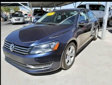 2012 Volkswagen Passat for sale at Hugo Motors INC in El Paso TX
