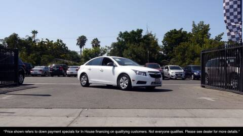 2013 Chevrolet Cruze for sale at Westland Auto Sales in Fresno CA