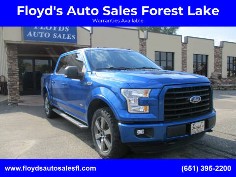 2015 Ford F-150 for sale at Floyd's Auto Sales Forest Lake in Forest Lake MN