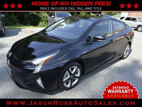 2016 Toyota Prius for sale at Jason Ross Auto Sales in Burlington NC