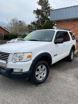 2007 Ford Explorer for sale at Monroe Auto Sales Inc in Wilmington NC