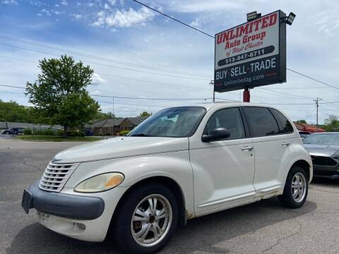 2001 Chrysler PT Cruiser for sale at Unlimited Auto Group in West Chester OH