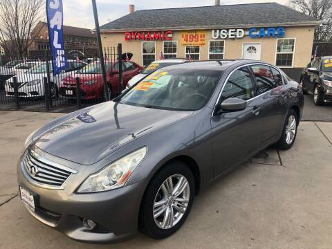 2012 Infiniti G37 Sedan for sale at DYNAMIC CARS in Baltimore MD