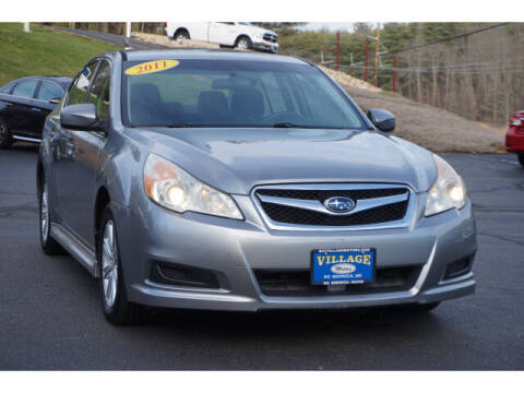 2011 Subaru Legacy for sale at VILLAGE MOTORS in South Berwick ME