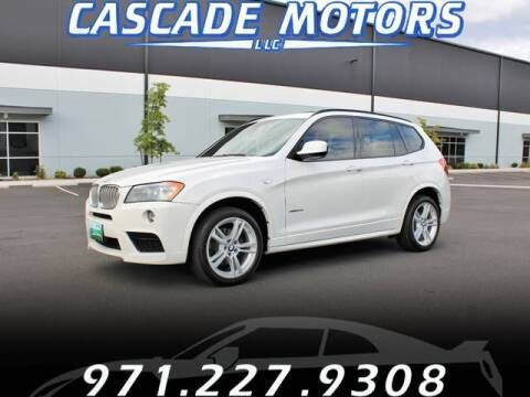 2014 BMW X3 for sale at Cascade Motors in Portland OR