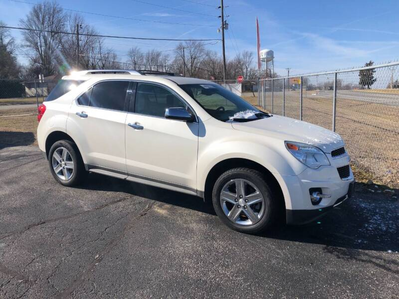 2014 Chevrolet Equinox for sale at Cars Across America in Republic MO