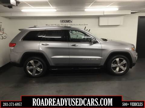2014 Jeep Grand Cherokee for sale at Road Ready Used Cars in Ansonia CT