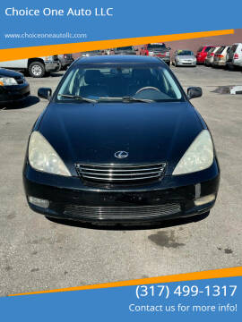 2004 Lexus ES 330 for sale at Choice One Auto LLC in Beech Grove IN