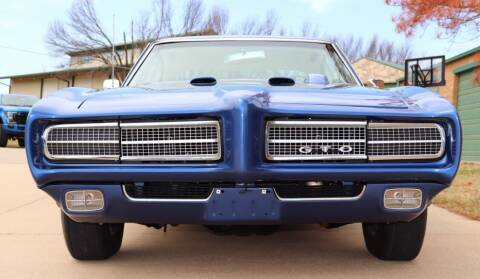 1969 Pontiac GTO for sale at Suncoast Sports Cars and Exotics in West Palm Beach FL