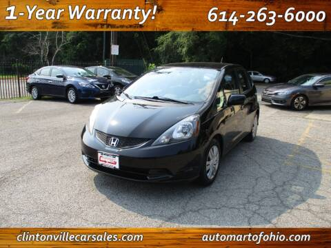 2012 Honda Fit for sale at Clintonville Car Sales - AutoMart of Ohio in Columbus OH
