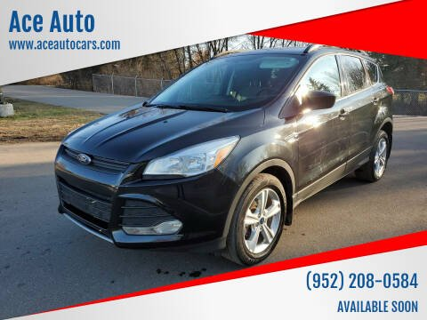 2015 Ford Escape for sale at Ace Auto in Jordan MN