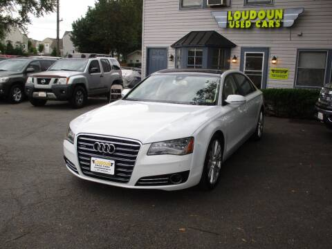 2014 Audi A8 L for sale at Loudoun Used Cars in Leesburg VA