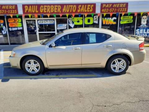 2010 Dodge Avenger for sale at Paul Gerber Auto Sales in Omaha NE