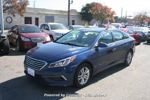 2016 Hyundai Sonata for sale at RVA MOTORS in Richmond VA