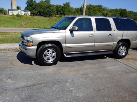 2001 Chevrolet Suburban for sale at K & P Used Cars, Inc. in Philadelphia TN