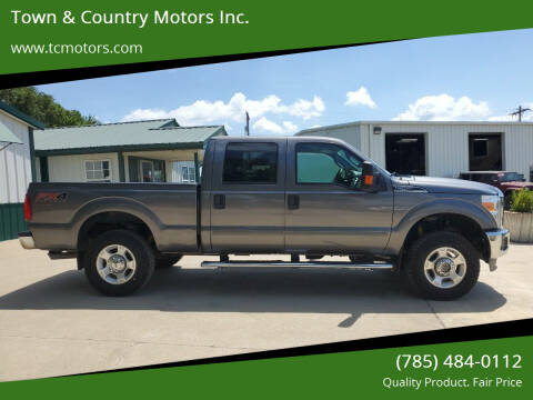 2012 Ford F-250 Super Duty for sale at Town & Country Motors Inc. in Meriden KS