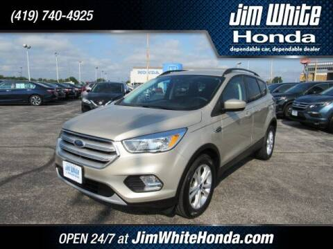 2018 Ford Escape for sale at The Credit Miracle Network Team at Jim White Honda in Maumee OH