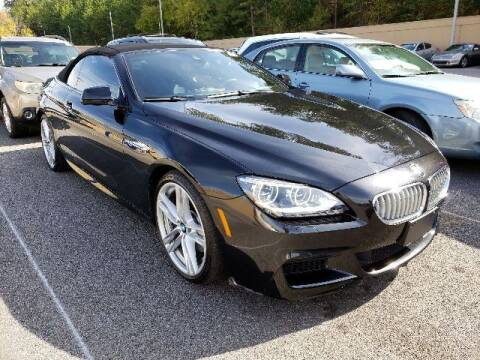 2015 BMW 6 Series for sale at Godspeed Motors in Charlotte NC