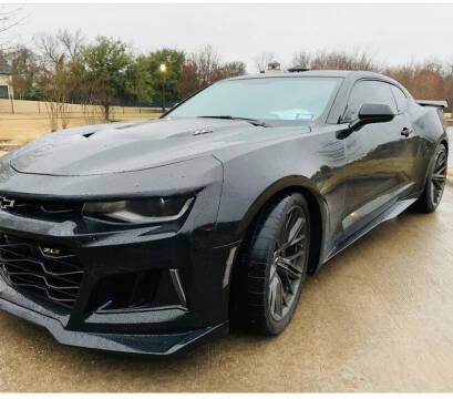 2018 Chevrolet Camaro for sale at Dream Lane Motors in Euless TX