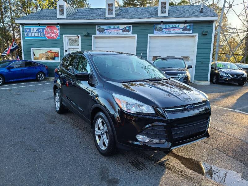 2016 Ford Escape for sale at Bridge Auto Group Corp in Salem MA