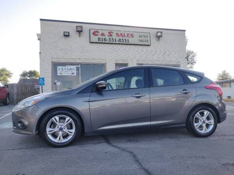 2014 Ford Focus for sale at C & S SALES in Belton MO