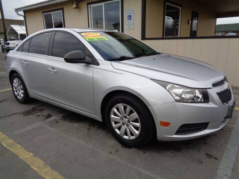 2011 Chevrolet Cruze for sale at BBL Auto Sales in Yakima WA