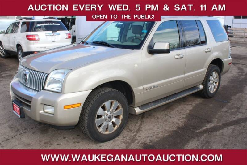 2007 Mercury Mountaineer for sale at Waukegan Auto Auction in Waukegan IL