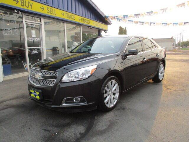 2013 Chevrolet Malibu for sale at Affordable Auto Rental & Sales in Spokane Valley WA