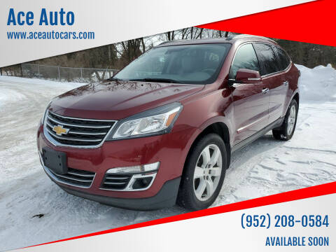 2017 Chevrolet Traverse for sale at Ace Auto in Jordan MN