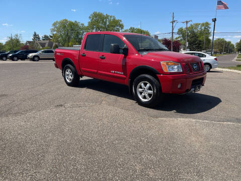 2012 Nissan Titan for sale at TOWER AUTO MART in Minneapolis MN