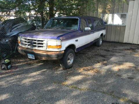 1995 Ford F-150 for sale at Northwest Auto Sales in Farmington MN