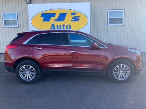2018 Cadillac XT5 for sale at TJ's Auto in Wisconsin Rapids WI
