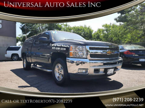2012 Chevrolet Silverado 1500 for sale at Universal Auto Sales Inc in Salem OR