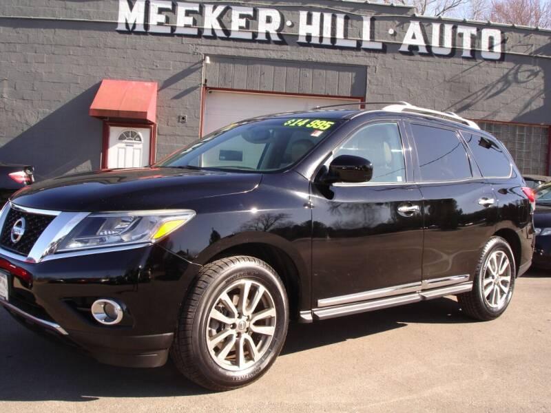2013 Nissan Pathfinder for sale at Meeker Hill Auto Sales in Germantown WI
