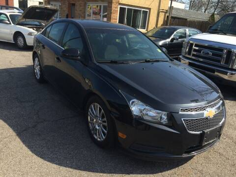 2012 Chevrolet Cruze for sale at Payless Auto Sales LLC in Cleveland OH