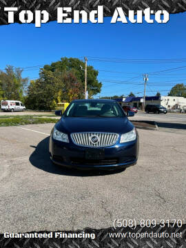 2011 Buick LaCrosse for sale at Top End Auto in North Attleboro MA
