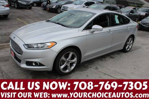 2014 Ford Fusion for sale at Your Choice Autos in Posen IL