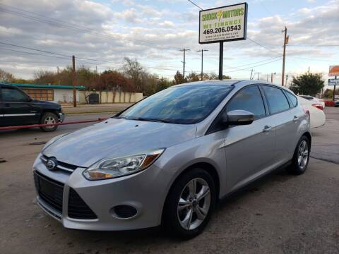 2013 Ford Focus for sale at Shock Motors in Garland TX