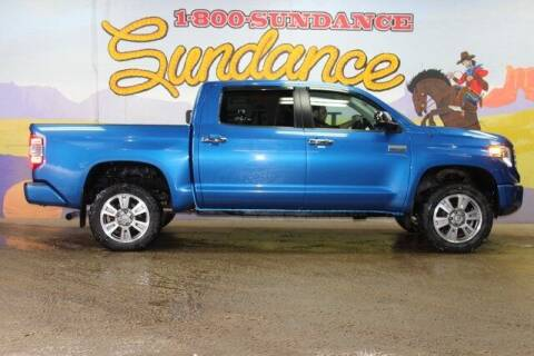 2017 Toyota Tundra for sale at Sundance Chevrolet in Grand Ledge MI