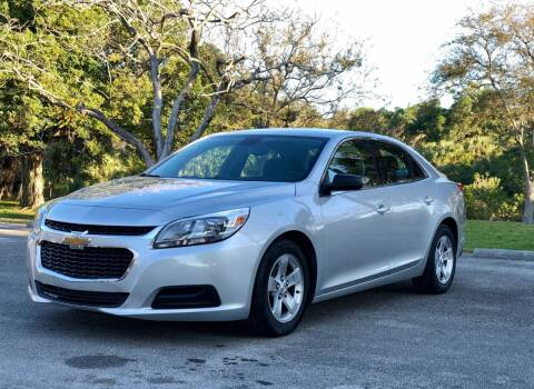 2015 Chevrolet Malibu for sale at Sunshine Auto Sales in Oakland Park FL
