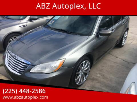 2013 Chrysler 200 for sale at ABZ Autoplex, LLC in Baton Rouge LA