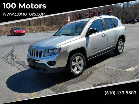 2011 Jeep Compass for sale at 100 Motors in Bechtelsville PA