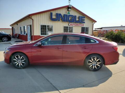 "2017 Chevrolet Malibu for sale at UNIQUE AUTOMOTIVE ""BE UNIQUE"" in Garden City KS"