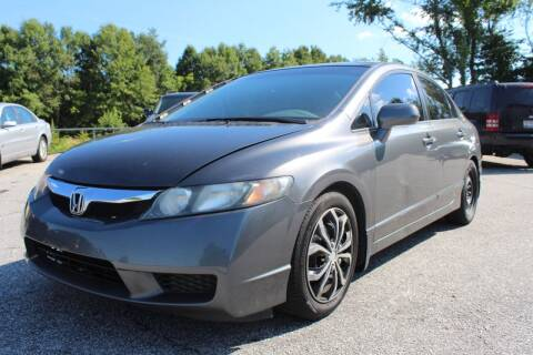2011 Honda Civic for sale at UpCountry Motors in Taylors SC