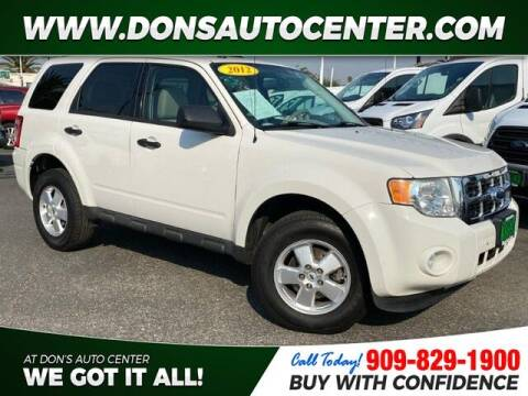 2012 Ford Escape for sale at Dons Auto Center in Fontana CA