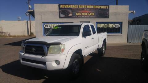 2006 Toyota Tacoma for sale at Advantage Auto Motorsports in Phoenix AZ