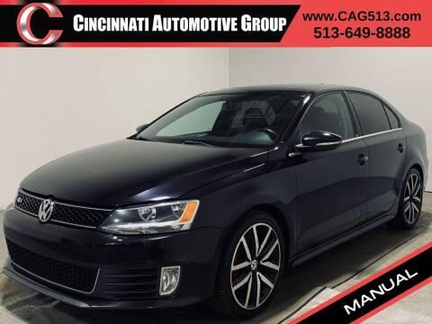 2012 Volkswagen Jetta for sale at Cincinnati Automotive Group in Lebanon OH