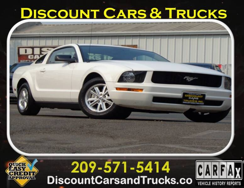 2008 Ford Mustang for sale at Discount Cars & Trucks in Modesto CA