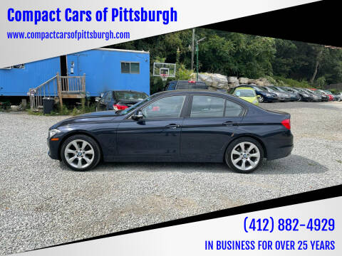 2014 BMW 3 Series for sale at Compact Cars of Pittsburgh in Pittsburgh PA
