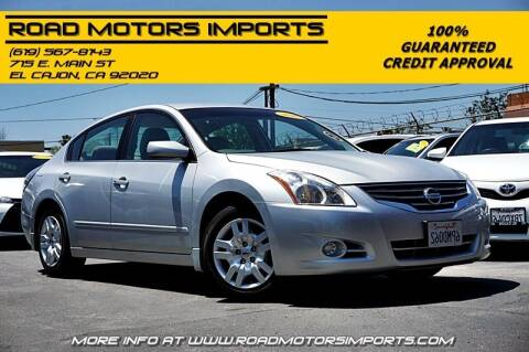 2010 Nissan Altima for sale at Road Motors Imports in El Cajon CA